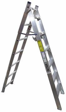 Imagen de Escalera Convertible Tipo Tijera 12 Esc. 3.22 Mts EScalumex