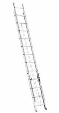 Imagen de Escalera Extensible Coliza De Aluminio 32 Escalones 9.6 Mts CUPRUM