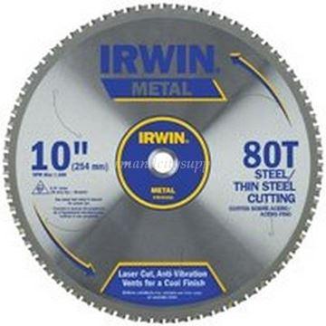 Imagen de Hoja De Sierra Circular Para Aluminio 10pul 80 Dientes Irwin