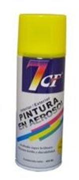 Imagen de Esmalte Sintético Pintura Aerosol Color Amarillo 400ml. 7cf