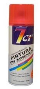 Imagen de Esmalte Sintético Aerosol Naranja Fluorecente 400ml. 7cf