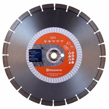 "Imagen de Disco Diamantado De Corte Multiptoposito 14"" Husqvarna QH5"