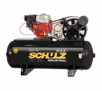 Imagen de Compresor A Nafta 8hp 257lts 175lbs Schulz Msv-20max