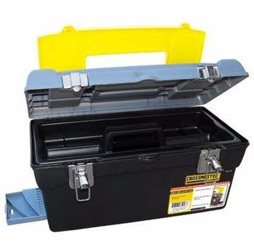 Imagen de Caja De Herramientas 420mm X 225mm X 210mm  Crossmaster