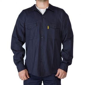 Imagen de Camisa Azul De Trabajo Talle Xxl