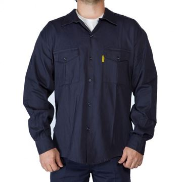 Imagen de Camisa Azul De Trabajo Talle L