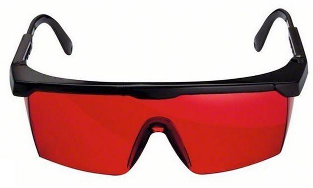 Imagen de Lentes Gafas Rojas Laser Para Niveles Bosch
