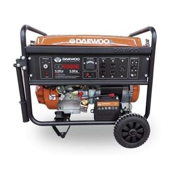 Imagen de Generador 5kw Motor 4 Tiempos Daewoo Gd6000e