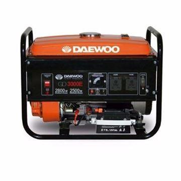 Imagen de Generador 3kw Motor 4 Tiempos Daewoo Gd3000e