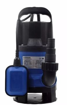Imagen de Bomba Sumerg. Hyundai Hysp400 1/2 Hp 110l/m P/aguas Cargadas