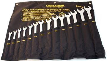 Imagen de Juego De Llaves Combinadas 10 - 32mm 14pzas Crossman 92-082
