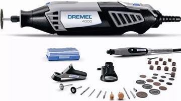 Imagen de Mini Torno Dremel 4000 + 36 Acc. + 2 Aditamentos + Flexible
