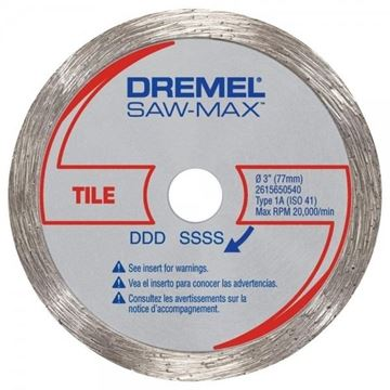 Imagen de Disco Corte Diamantado Para Cortadora Sierra Dremel 540