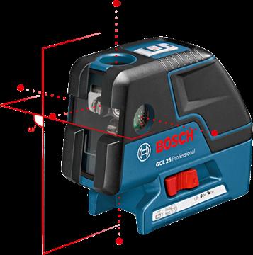 Imagen de Nivel combinado de linas y puntos Bosch gcl 25