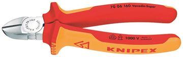 Imagen de Alicate Corte Diagonal 1000V 7 pulgadas KNIPEX 7006180SB