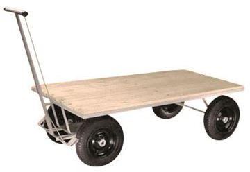 Imagen de Carro carga 4 ruedas piso madera 150X80x46cm 800kg CMB 300