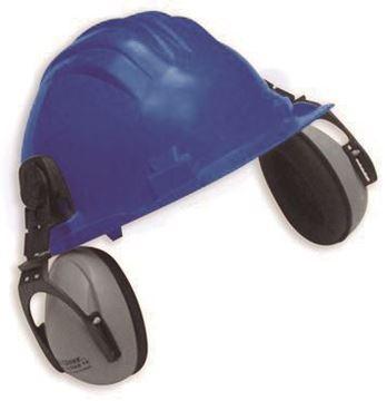 Imagen de Casco 5RG azul (UNIT 687-83) c/prot. auditivo CLIMAX 5-P