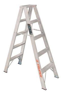 Imagen de Escalera aluminio doble 5 escalones 1.5mt TRUPER ESTD-24