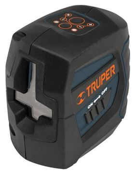 Imagen de Nivel láser 20mt nivelación automática TRUPER NL-20