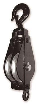 "Imagen de Pasteca  2 poleas-> Diám.60mm,250kg,SWL:4  ""GARRA"" Ref.631 B"