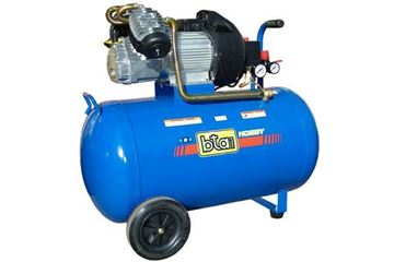 Imagen de Compresor Aire Comprimido Motor 3hp Tanque De 100lts Bta