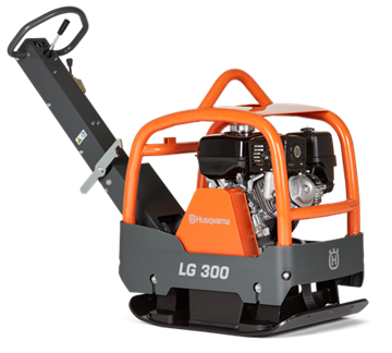 Imagen de placa compactadora vibradora 265kg Husqvarna lg 300