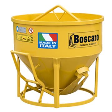 Imagen de Tolva tacho 500lts hormigón para guinche grúa Boscaro