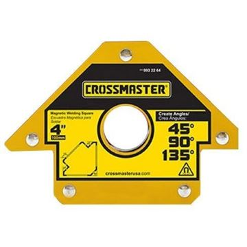 """Imagen de Escuadra Magnética para Soldar Ángulos 4"""" 23kg Crossmaster"""
