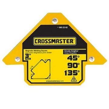"""Imagen de Escuadra Magnética para Soldar Ángulos 3"""" 11kg Crossmaster"""