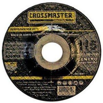 Imagen de Disco corte de acero inox  115 x 1,6mm Crossmaster 9982206.2
