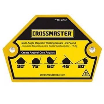 Imagen de Escuadra Magnética para Soldar multiángulos 11kg Crossmaster 9932272