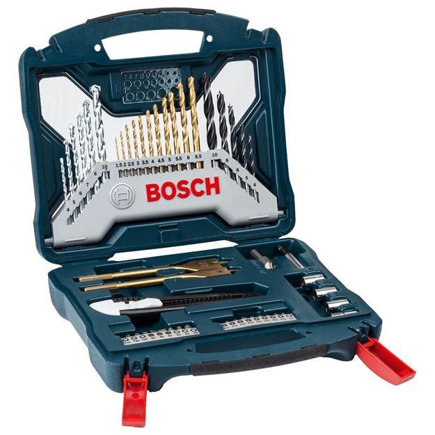 Imagen de Kit de puntas y mechas titanio X-Line 50pz BOSCH